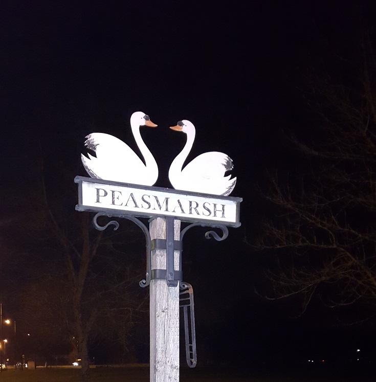 Peasmarsh Village Sign