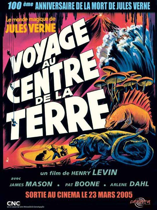 Voyage au centre de la Terre : Affiche Henry Levin