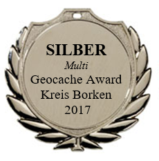 SILBER (Multi) - Geocaching Award Kreis Borken 2017
