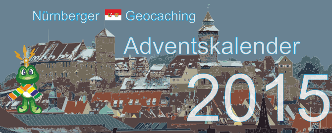 Banner Nürnberger Geocaching Adventskalender 2015