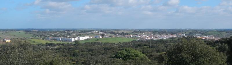 Panorama da vila
