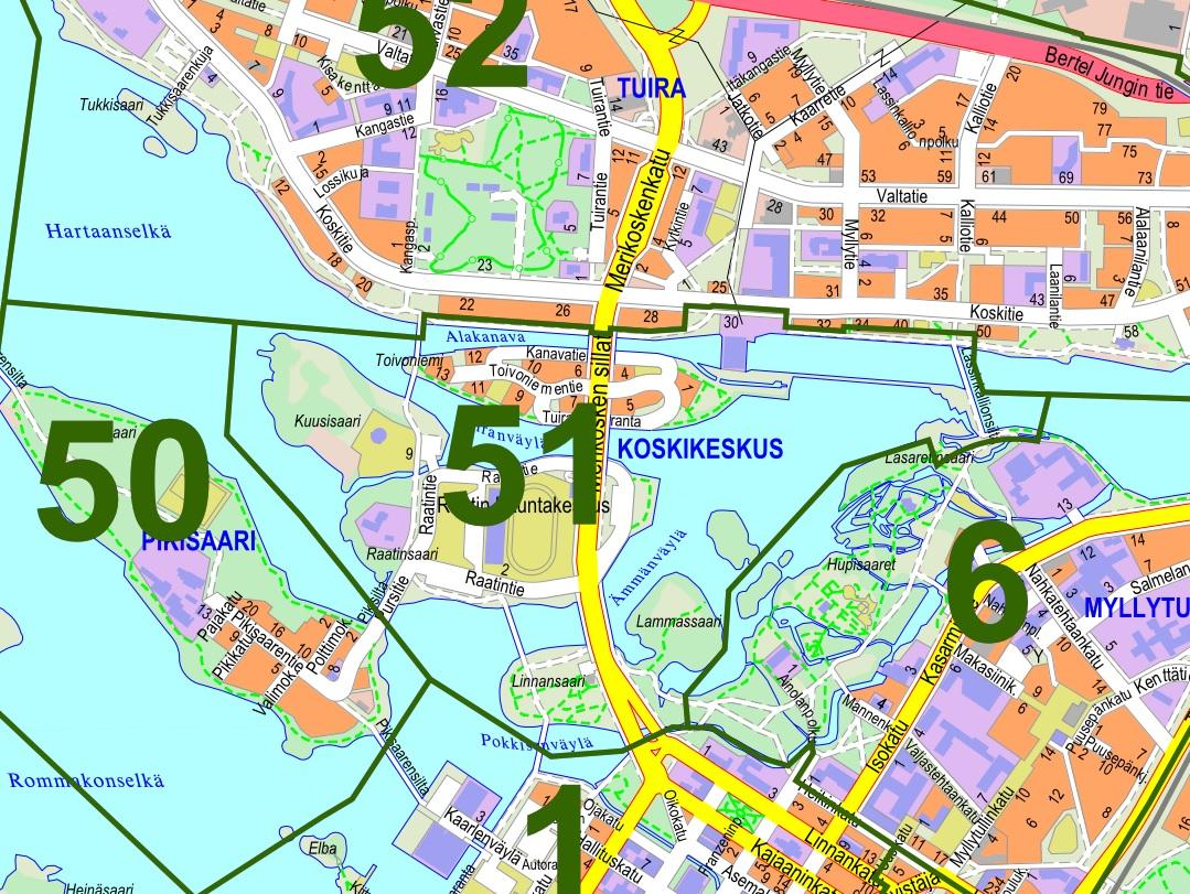 Gc69g6f Oulun Kaupunginosat 51 Koskikeskus Wherigo Cache In