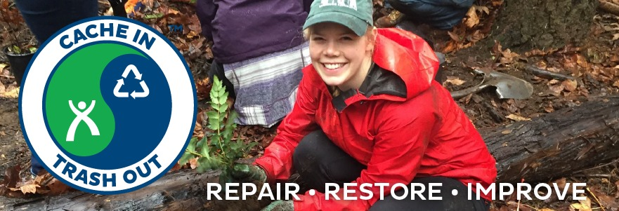 Cache In Trash Out (CITO) - Repair, Restore, Improve