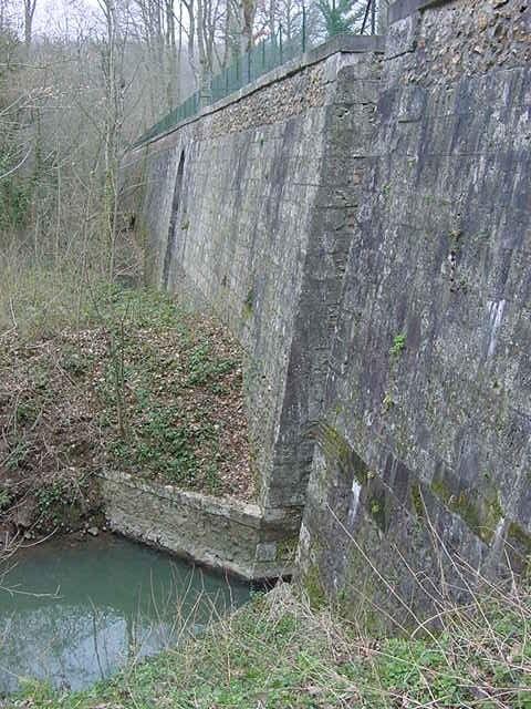 Prise d_eau de Boizard (Etat en 2004)