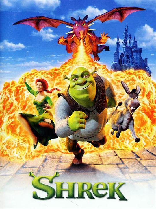 Shrek : Affiche Andrew Adamson, Vicky Jenson