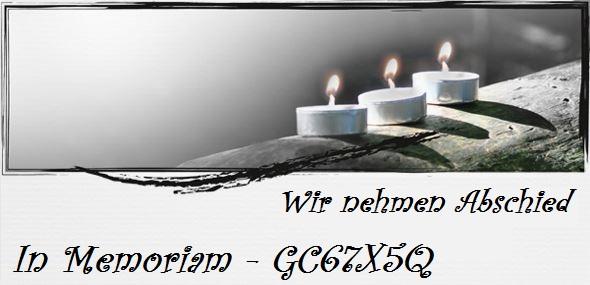 In Memoriam GC67X5Q