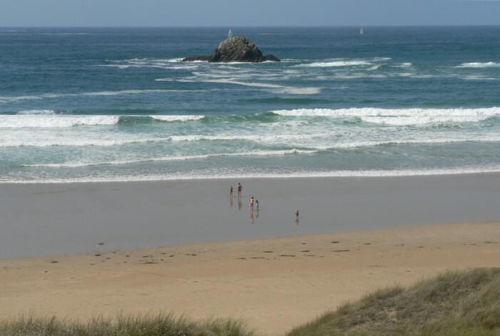 La plage de La Palue à Crozon