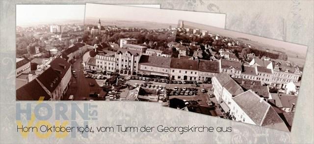 Hauptplatz Horn 1984