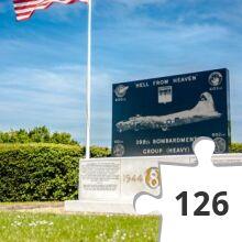 Jigsaw puzzle - War Memorial #925 ~ 398th USAF BG - Nuthampstead