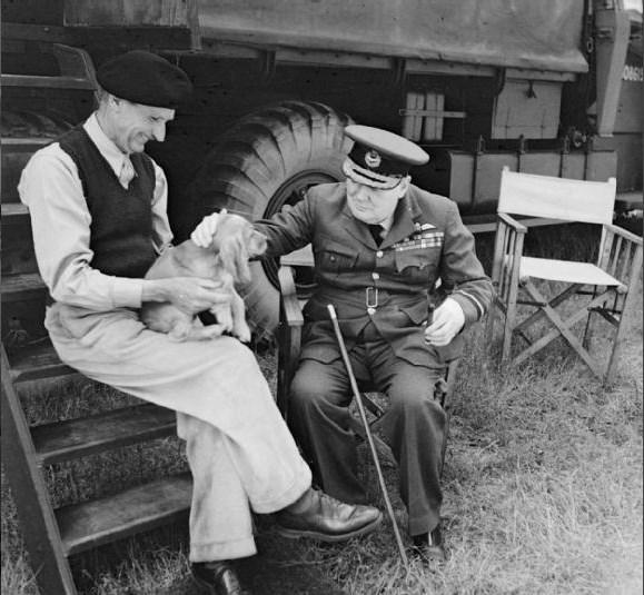 Montgomery et Churchill