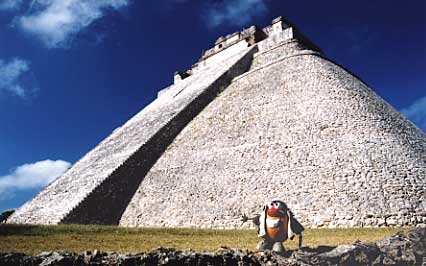 Join Spud as he follows the footsteps of the ancient Maya