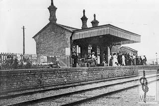 West Bay station c1910