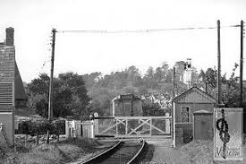 Bradpole level Crossing 1970s