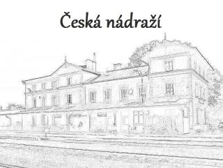 Tato keš je součástí série Česká nádraží