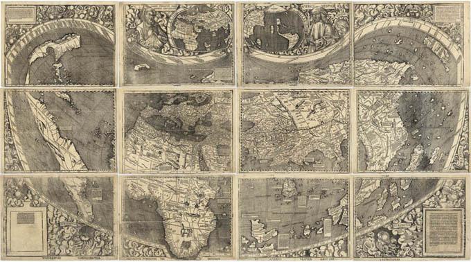 Waldseemüller-Karte von 1507