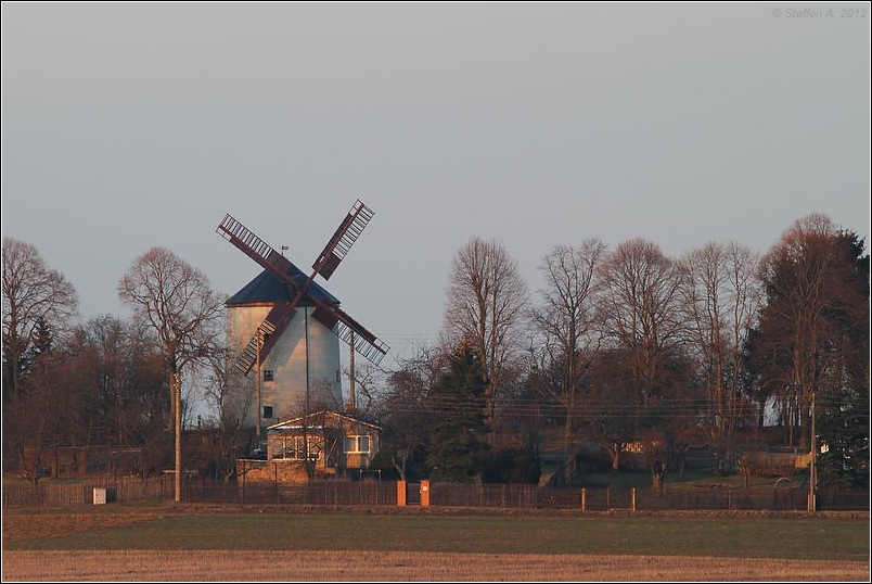 Windmühlenblick