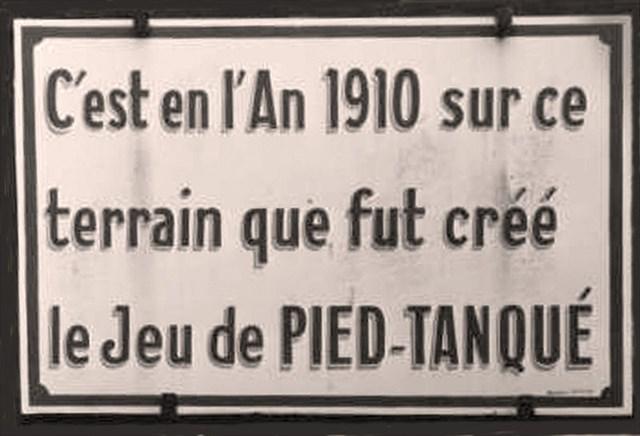 Invention petanque Boulodrome la Ciotat _Jules le Noir