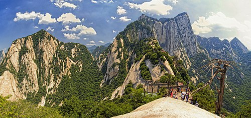 Mount Huashan : North Peak