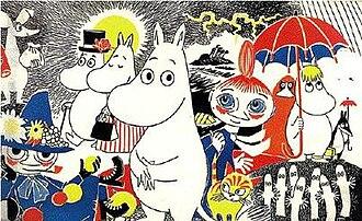 Moomins at Wikipedia
