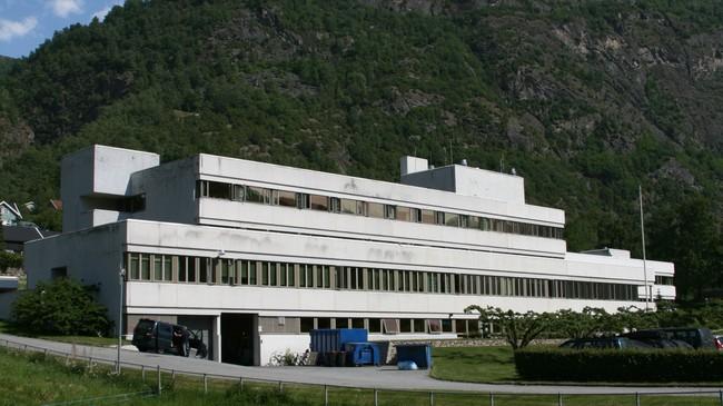 Lærdal sjukehus i 2007. Foto: Kjell Arvid Stølen, NRK.