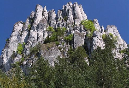 Origin of Súlovské Skaly - vznik Súlovskych skál