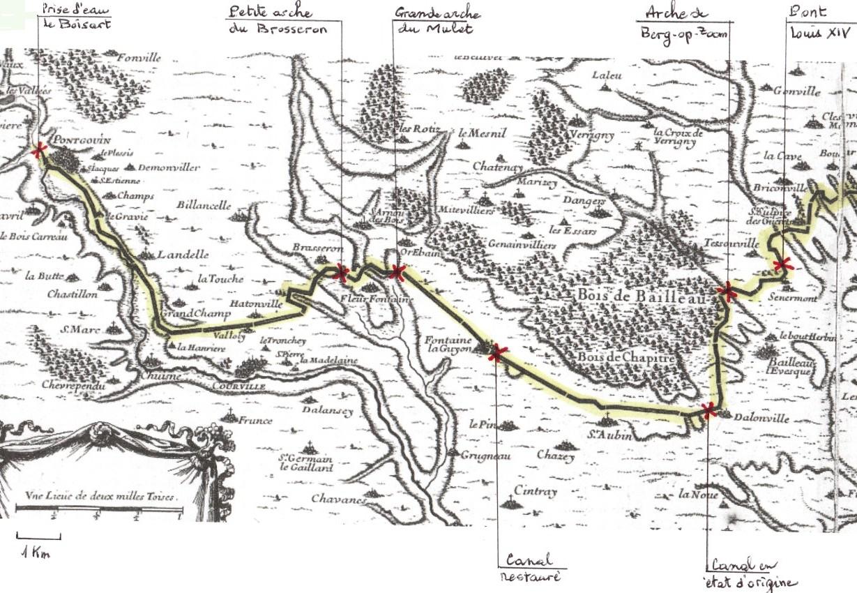 Partie ouest du canal de l_Eure