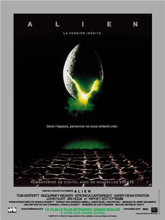 Alien, le huitième passager : Affiche