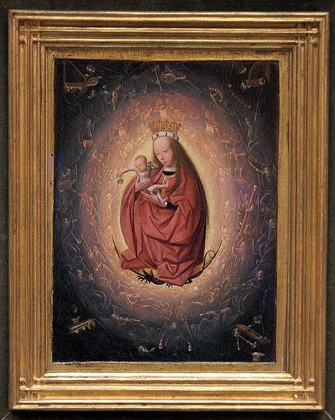 Verheerlijking van Maria, Geertgen tot Sint Jans