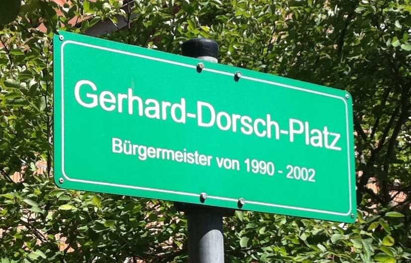 Buergermeister Dorsch-Platz