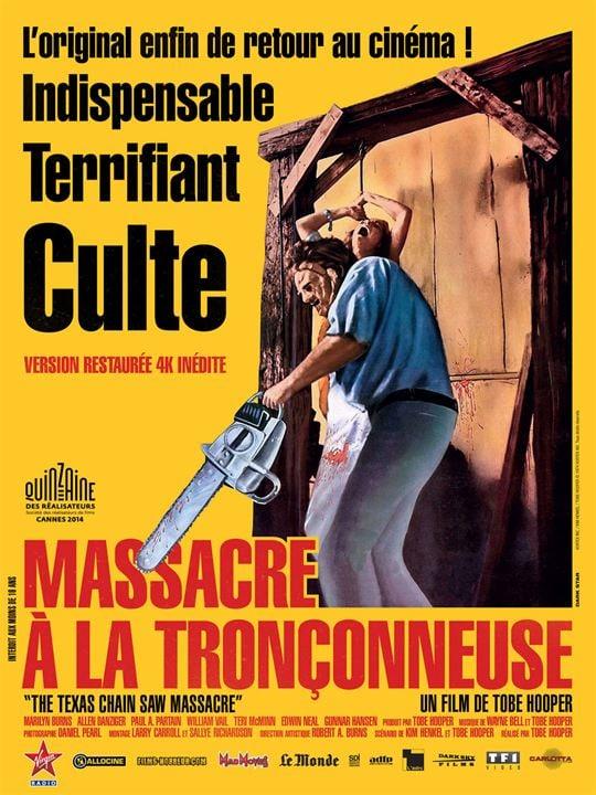 Massacre à la tronçonneuse : Affiche