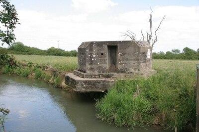 Pillbox on the bank