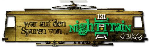 NighT[131]TraiN - Nightcache Banner