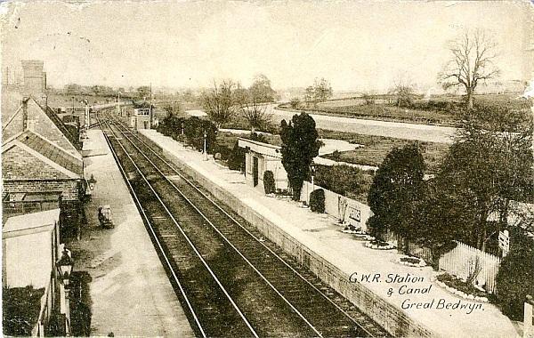 Bedwyn Station, 1931