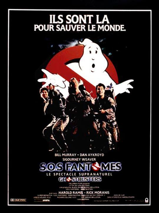 S.O.S. Fantômes : Affiche