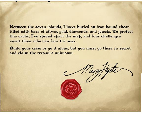 Battered letter