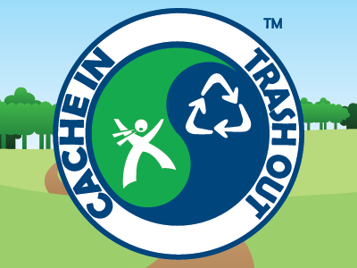 """The Cache In Trash Out Logo is a trademark of Groundspeak, Inc. Used with permission."""