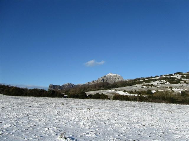 Bugarach en hiver