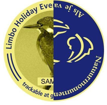 Artwork of the Limbo Holiday Event Geocoin