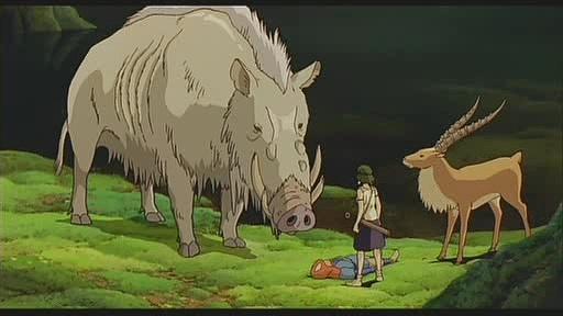 GC68H7A 乙事(Okkoto) - Princess Mononoke #1 (Traditional Cache) in ...