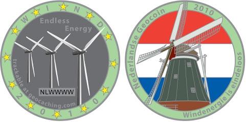 Dutch 2010 Geocoin - Artwork