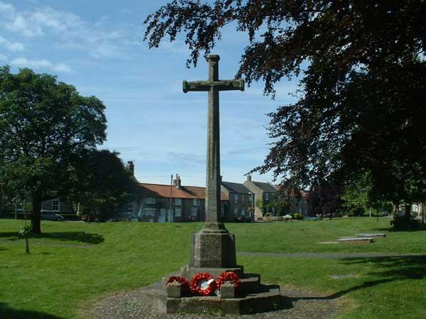 The War Memorial on Catterick Village Green