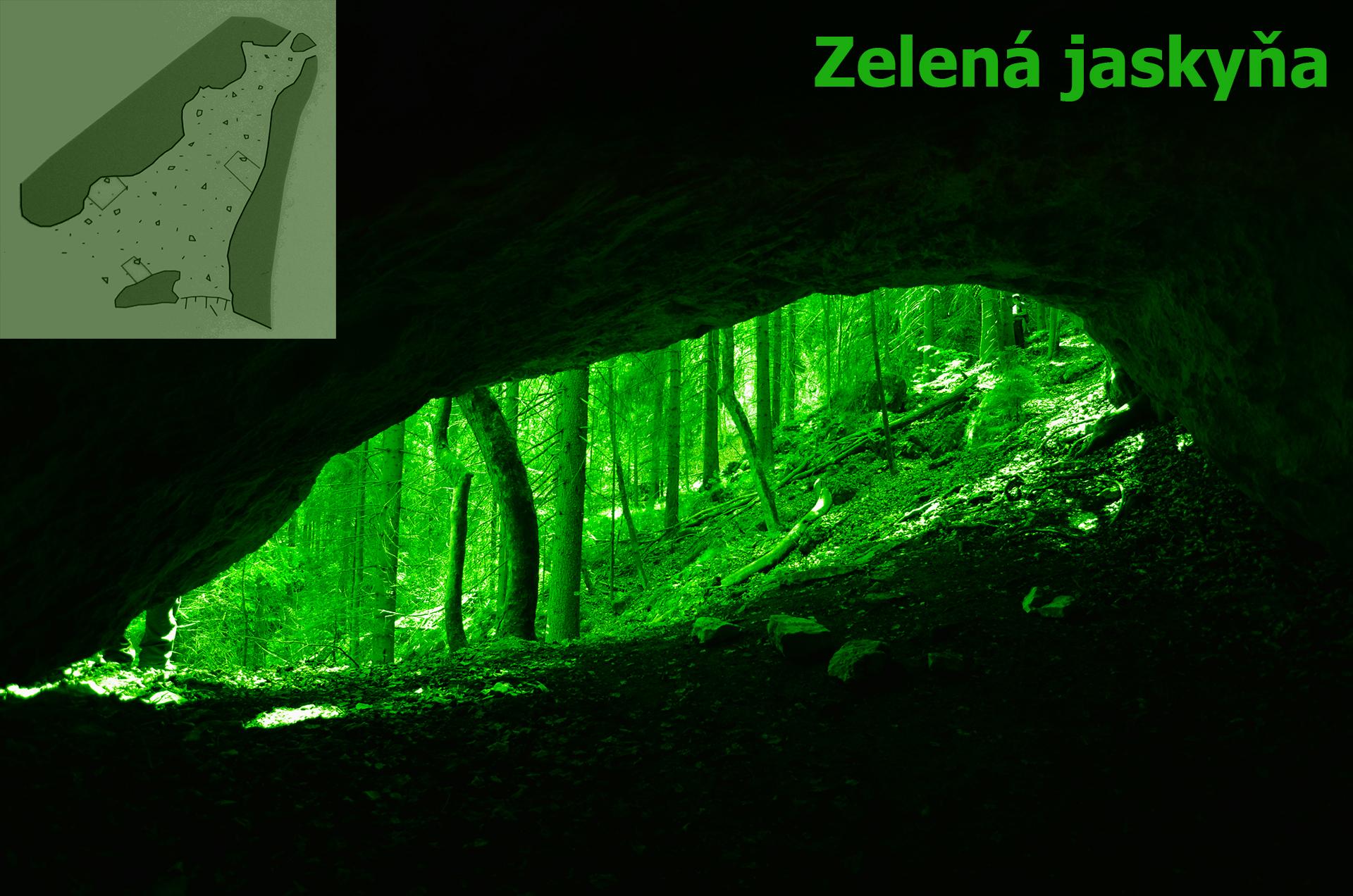 Zlená jaskyňa