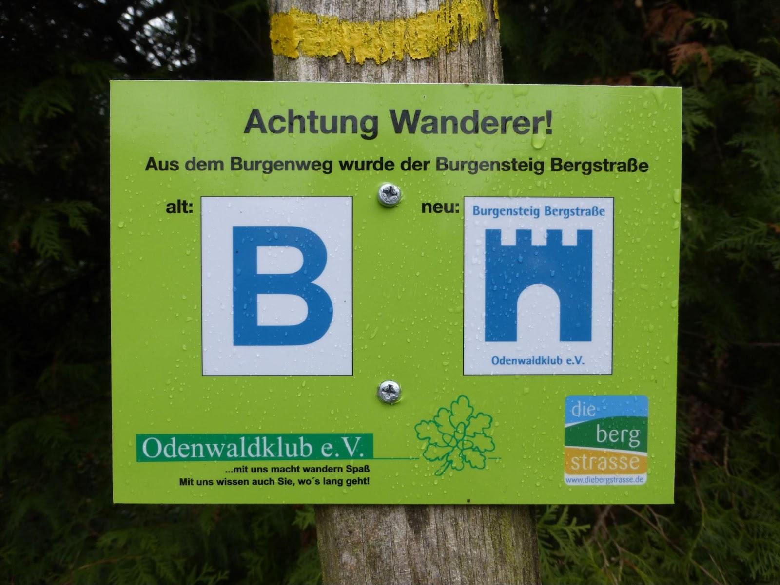 Achtung Wanderer!