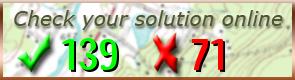 Vérifier votre solution / Check your solution / Überprüfen Sie Ihre Lösung / Verifique su respuesta